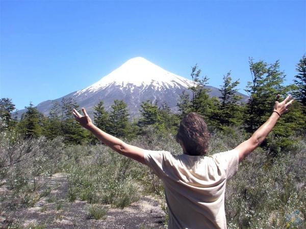 El volcán Osorno