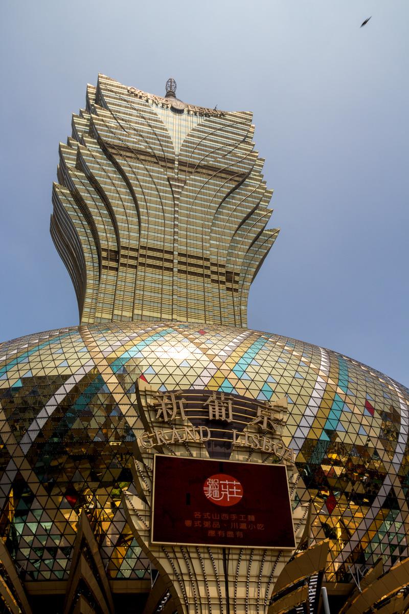 Los casinos son los que mandan aquí, Macao