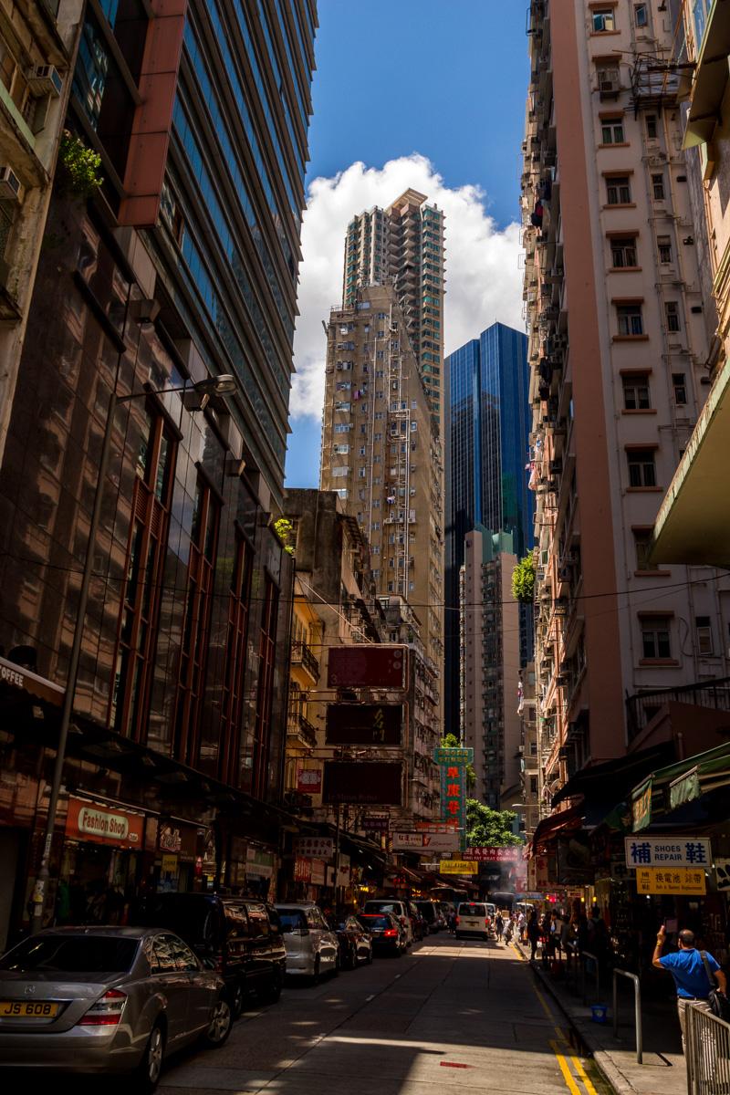 Paredes de hormigón, Hong Kong