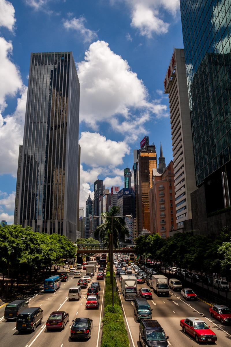 Todo parece ser distrito de negocios, Hong Kong