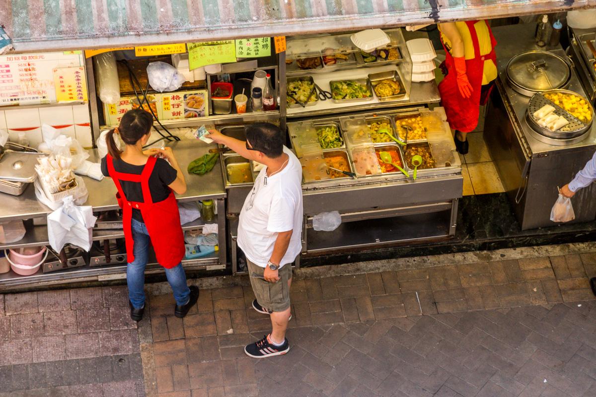 Puestos callejeros, Hong Kong