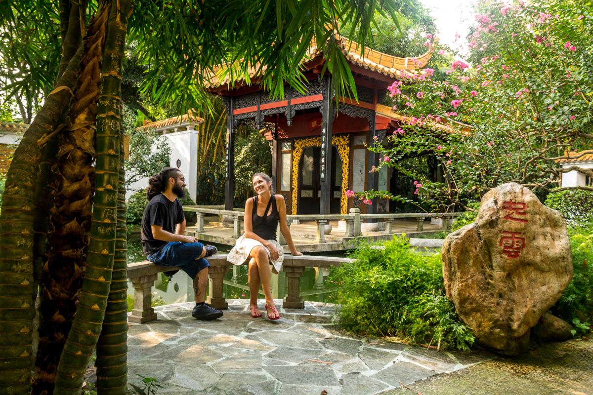 Paseando por los parques de Guangzhou