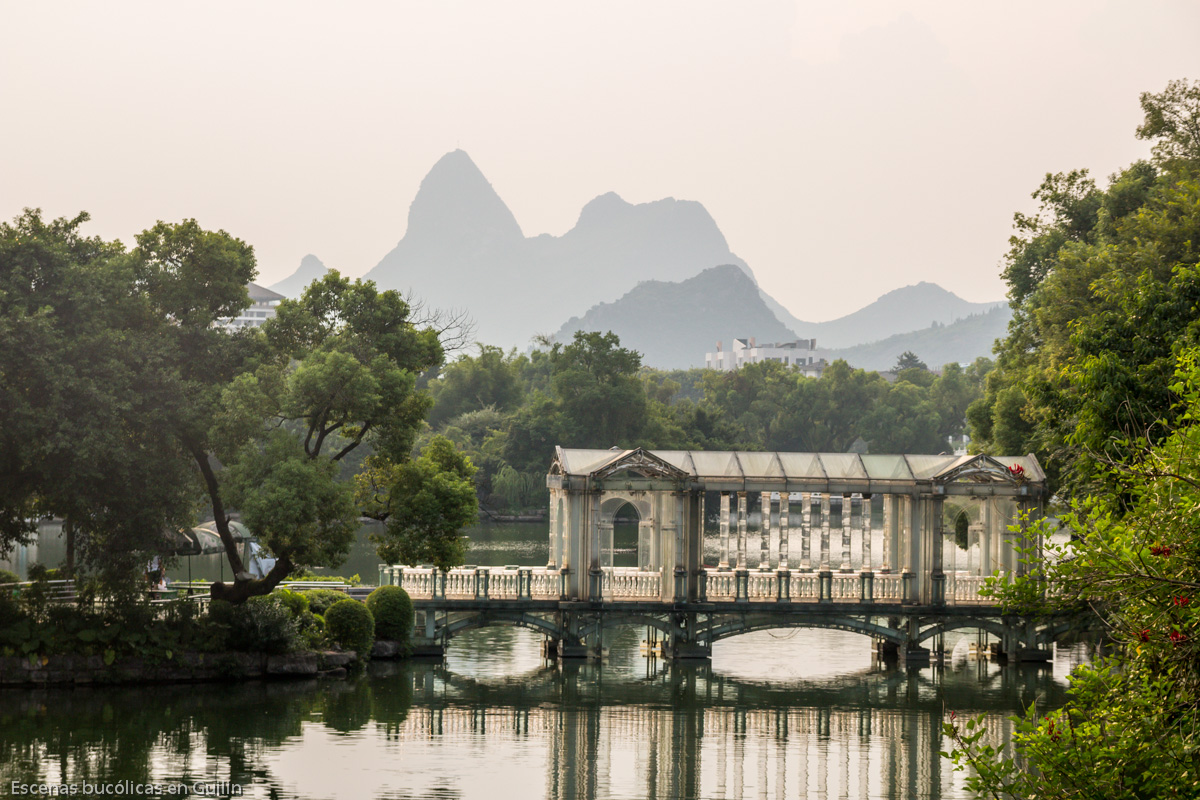 Escenas bucólicas en Guilin