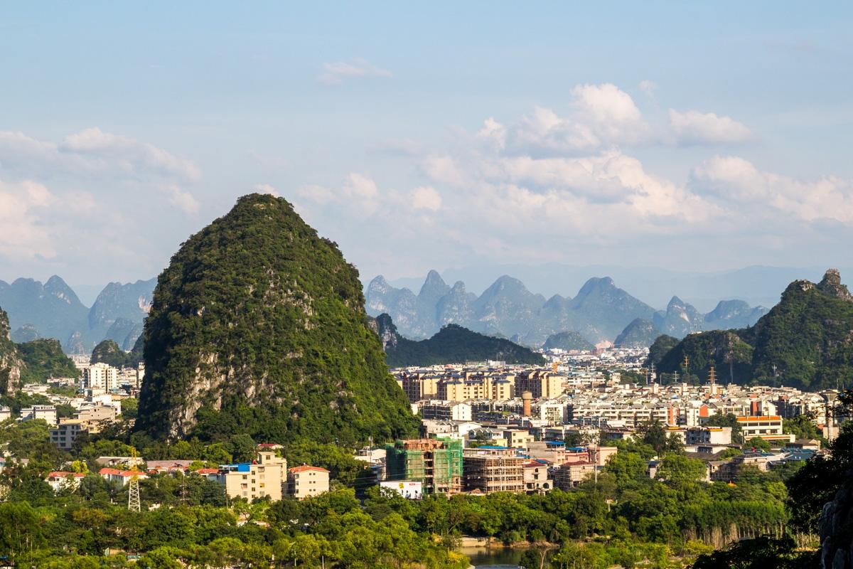 La ciudad de Guilin
