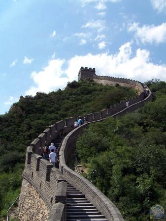 Badaling, el tramo más turístico de la Gran Muralla