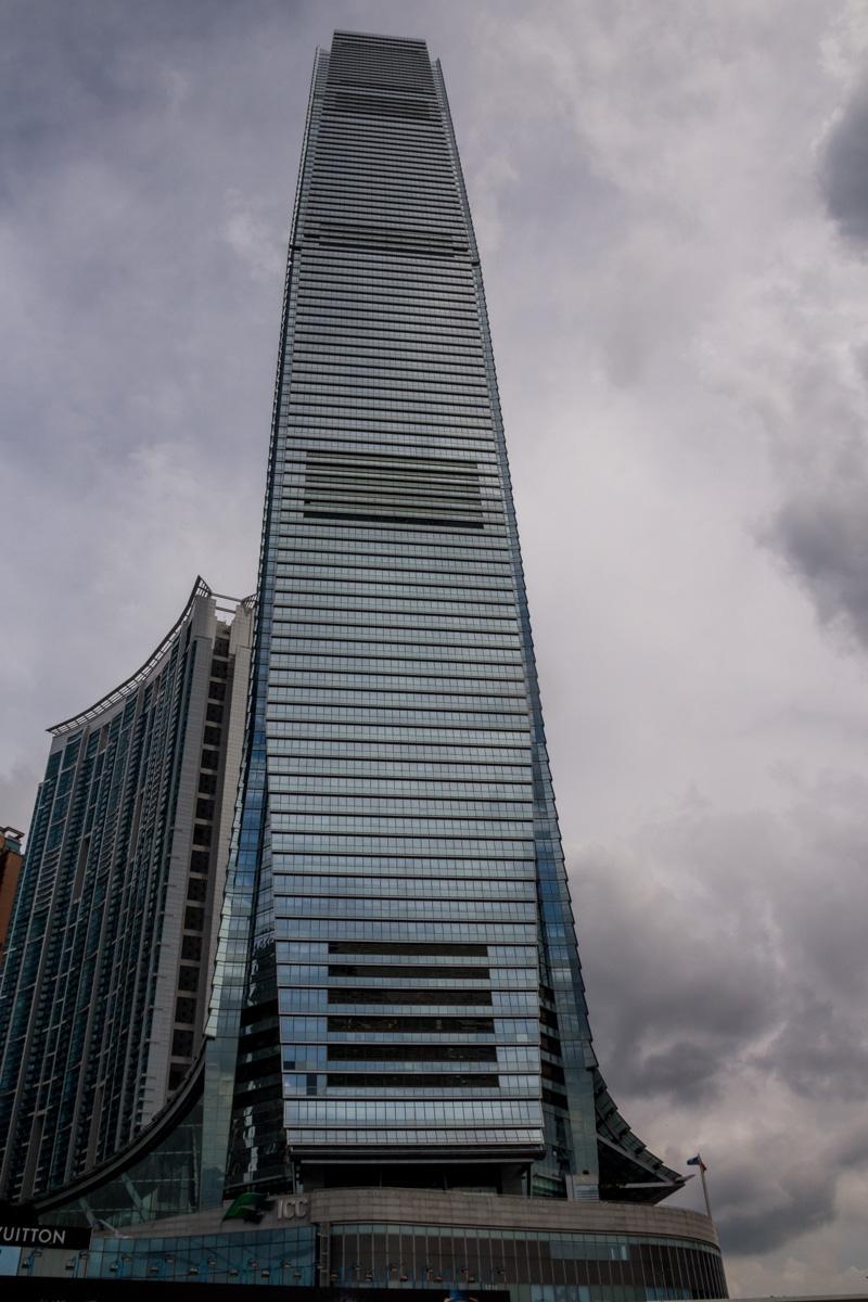 International Commerce Centre, el edificio más alto de Hong Kong
