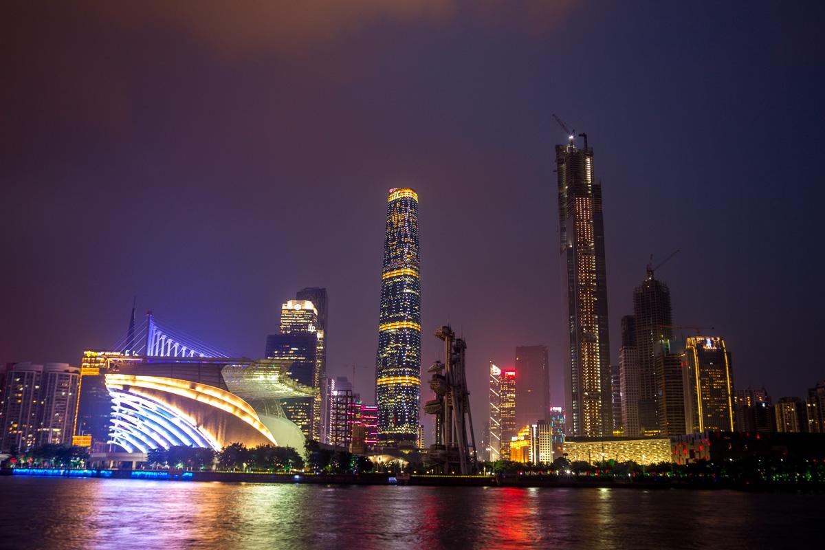 Skyline de Guangzhou