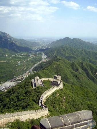 La Gran Muralla desde arriba
