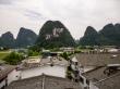 Los techos de Yangshuo
