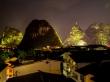 Vistas desde nuestro rooftop, Yangshuo