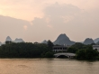 Panorámica en los lagos de Guilin