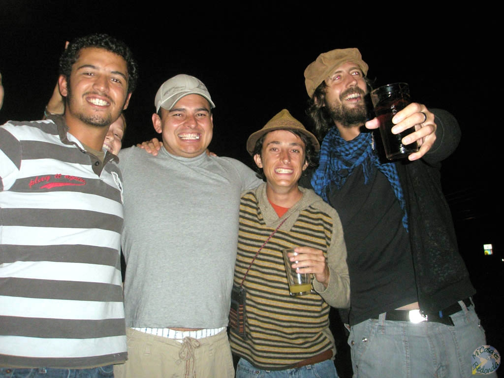 Comenzando la fiesta en Monteverde