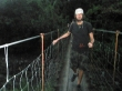 Puentes colgantes yendo al volcán Arenal