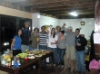 Toda la tropa del hostel de Monteverde