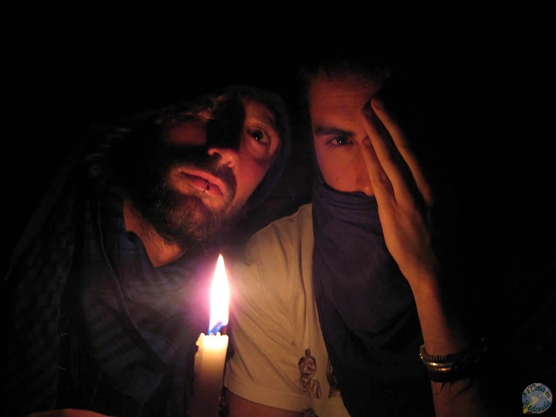 Dando aún más miedo, Javi y yo