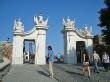 Las puertas del castillo