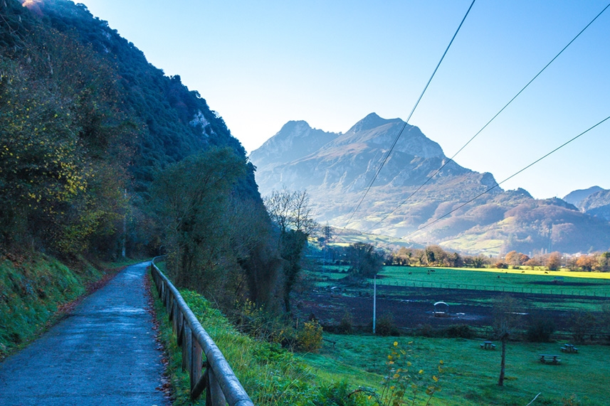 Por el oeste Asturiano