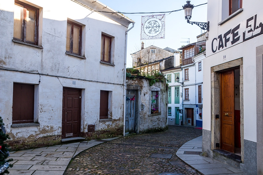 Calles de Castropol