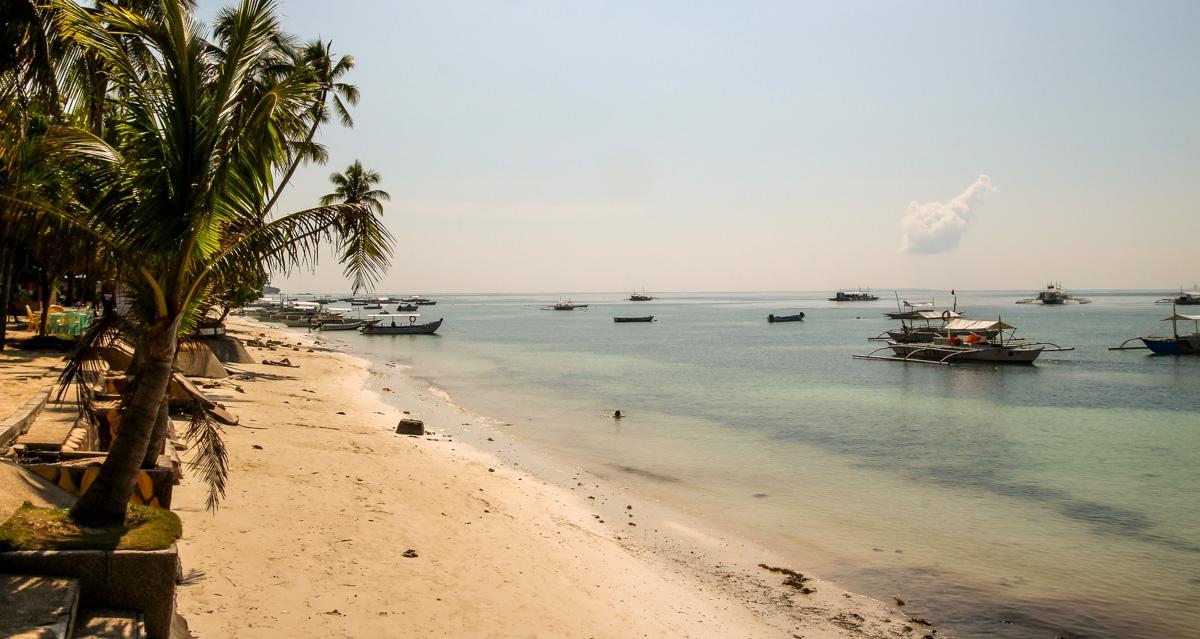 La playa en Panglao