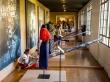 Enseñando el oficio en el museo de Filipinas, Manila