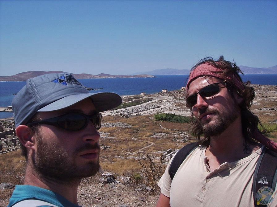 Ruinas de Delos (sí, nosotros)