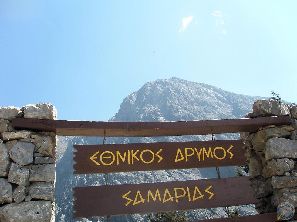 Y llegamos a la garganta de Samaria!