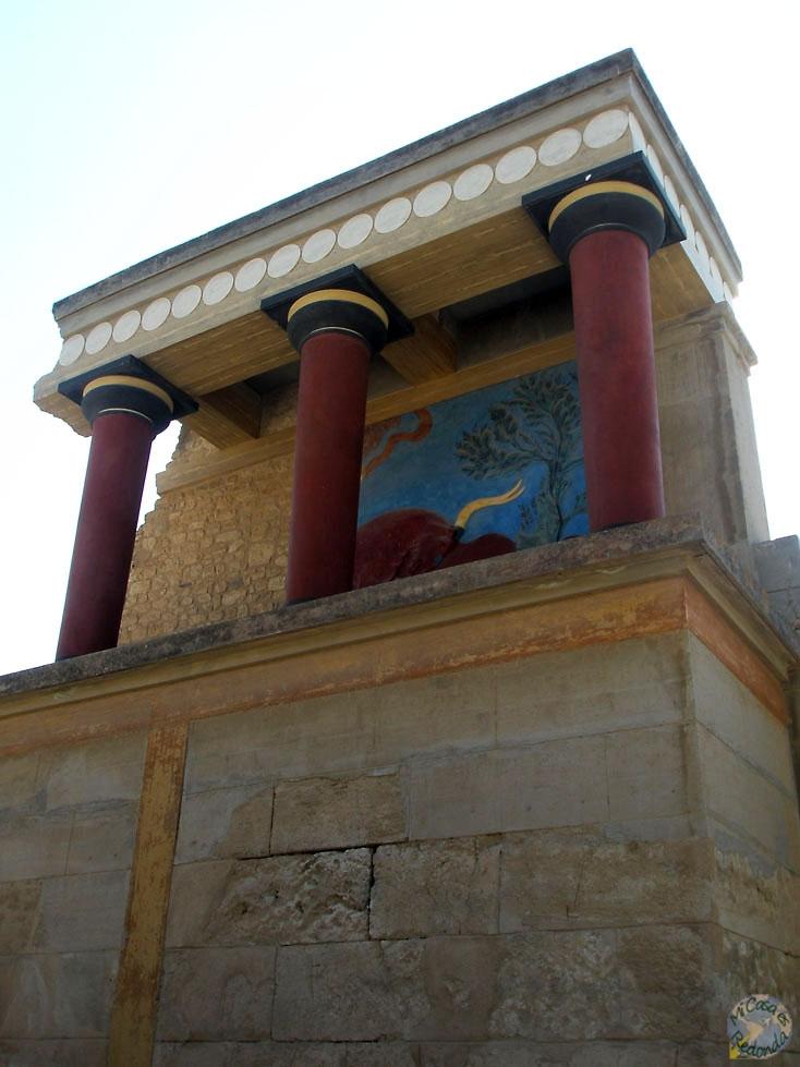 Y venga a pintar columnas..