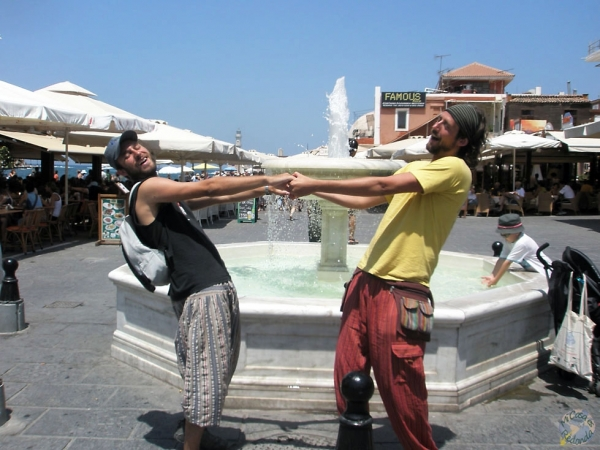Fotos serias, las justas. Creta