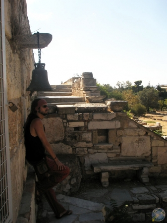 En el Ágora, Atenas