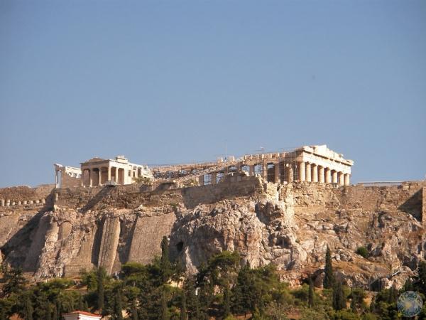 La Acrópolis desde el Ágora