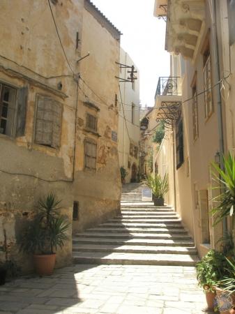 Las calles del centro de Chania, Creta
