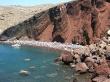 La playa Roja de Santorini