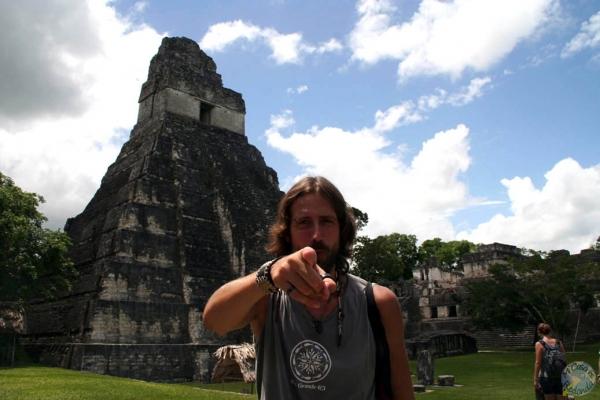 Tú serás el próximo en venir a Tikal