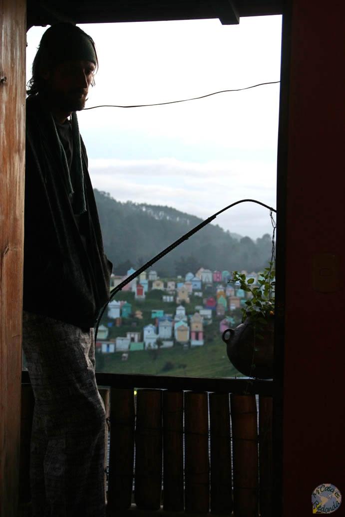Nuestro alojamiento en Chichicastenango