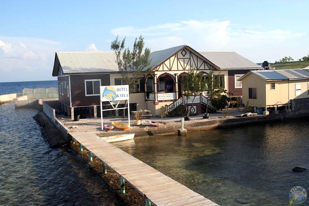 """Nuestro """"hotel"""" en Jewel Cay"""