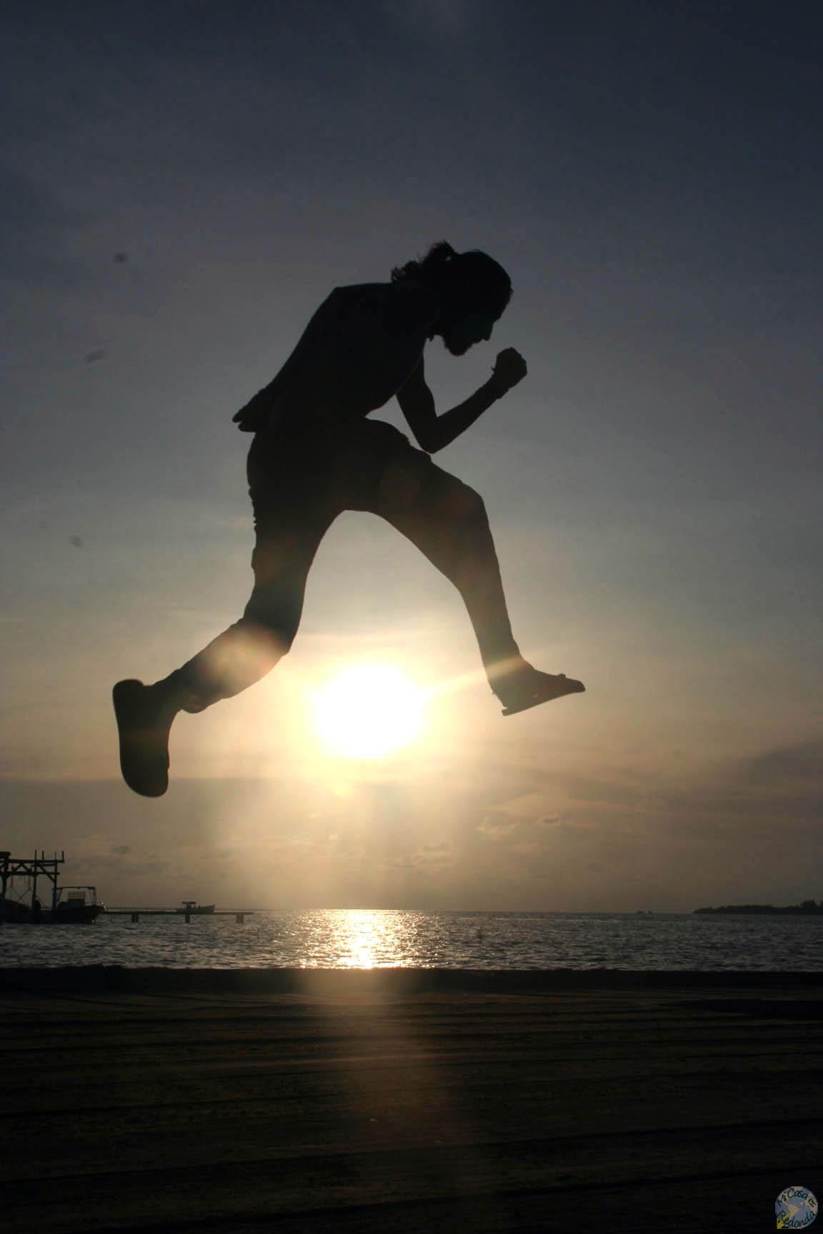 Jump as high as the sun!