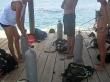 Preparando el equipo para la inmersión