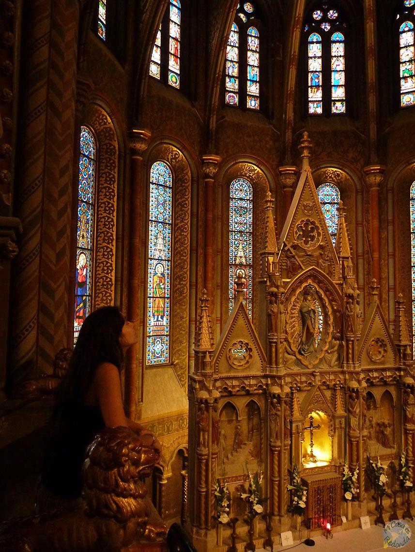 Admirando el arte eclesiástico