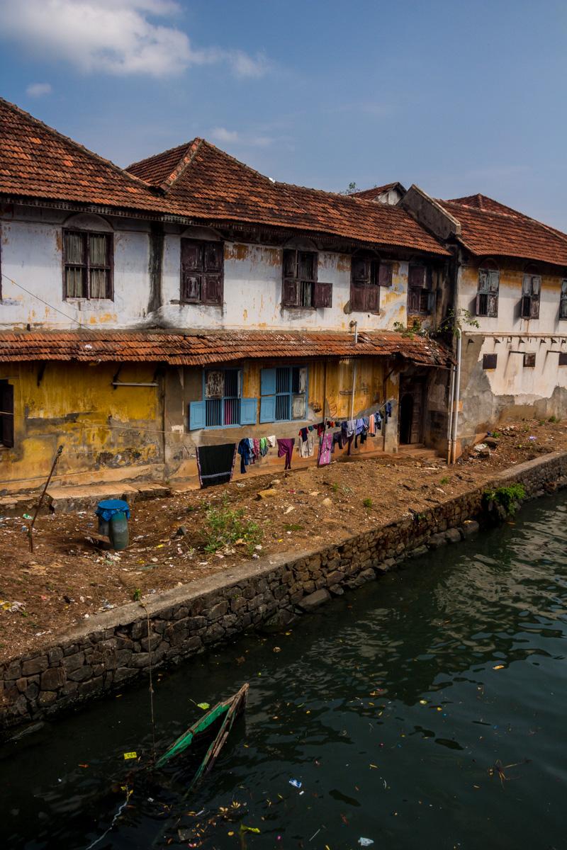 No son los canales más vistos que verás en tu vida... Fort Kochi
