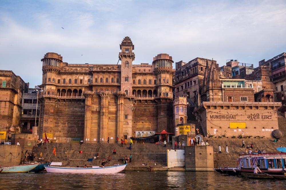 Una residencia de uno de los sultanes de Rajastán en Varanasi