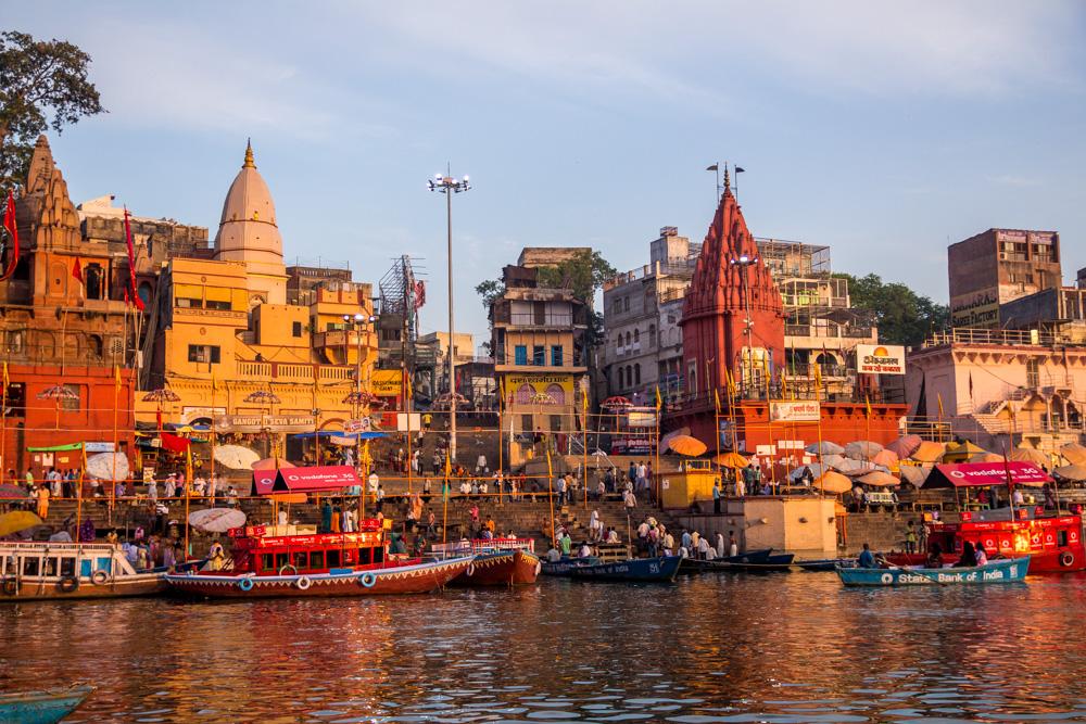 Color en Varanasi