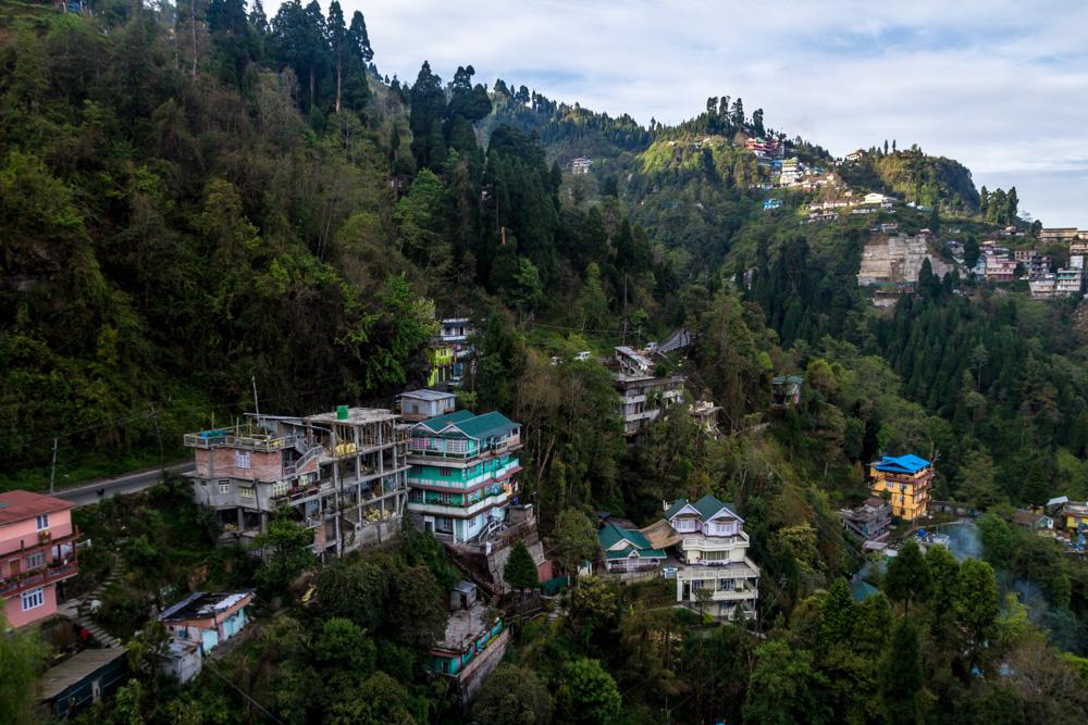 Los alrededores de Darjeeling