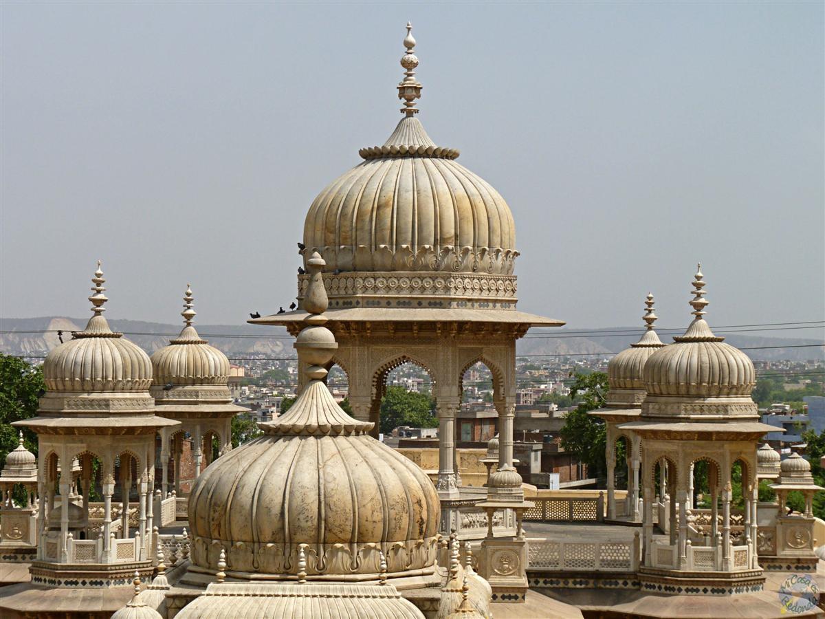 Cenotafio de Gaitor, Jaipur