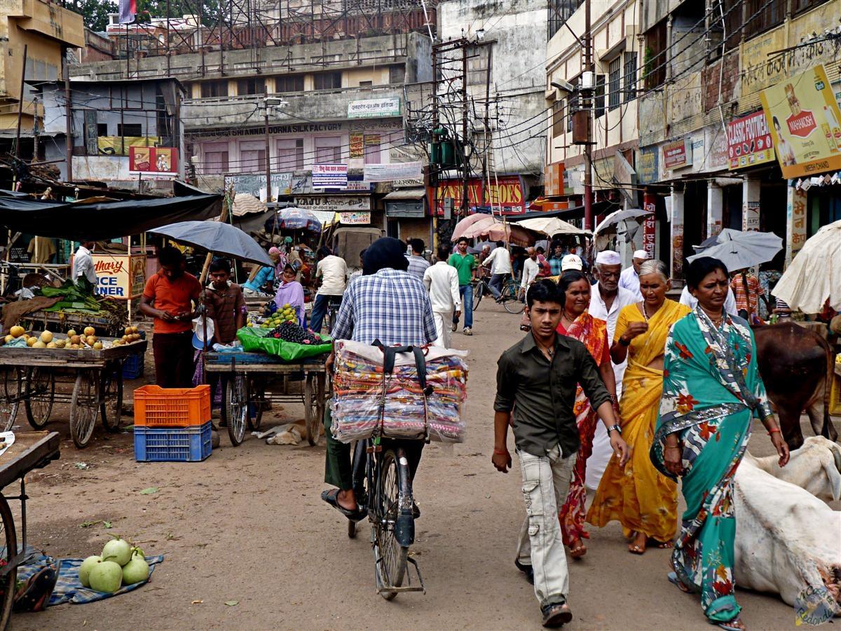 Mercado de Varanasi