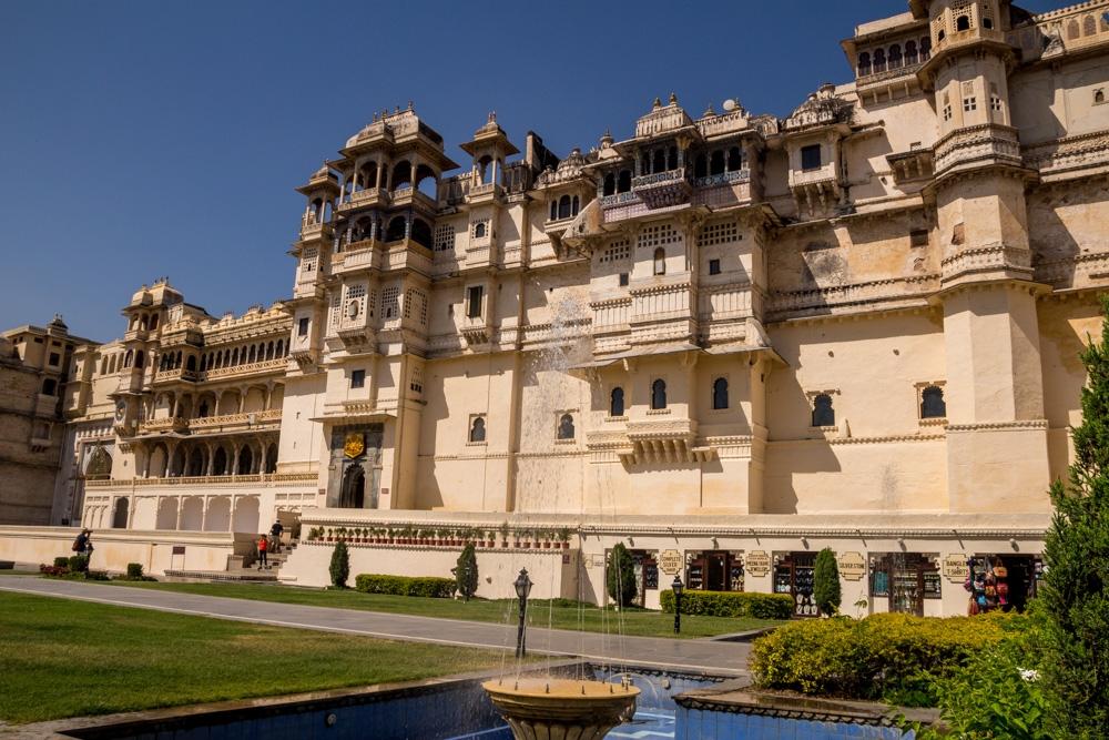 Entrada al palacio de Udaipur