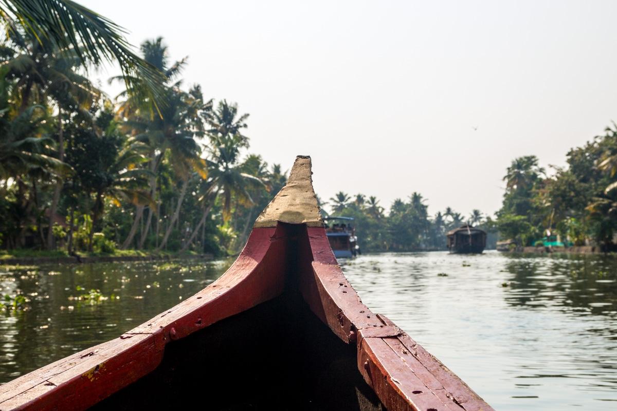 Recorriendo los  backwaters