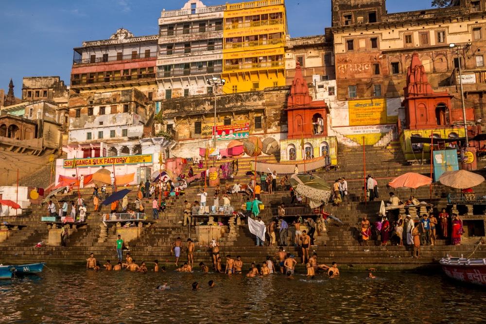 Ghats en Varanasi