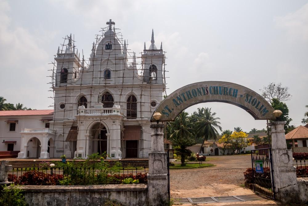 Iglesias en Goa