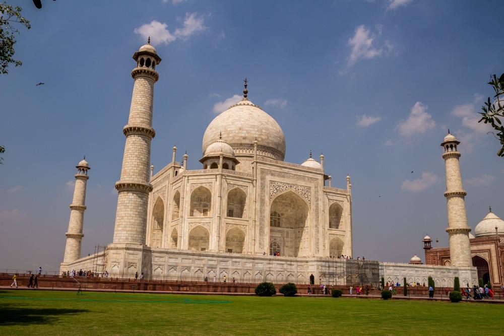 Vistas alternativas del Taj Mahal