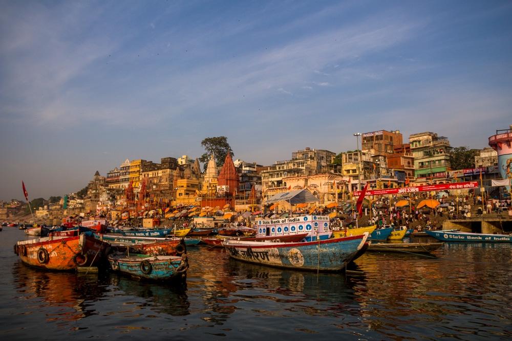 En barca por el Ganges